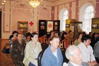 На отчетно-выборной  конференции Тамбовского регионального отделения Общероссийской общественной организации «Российский Красный Крест» в Музейно-выставочном центре Тамбовской области