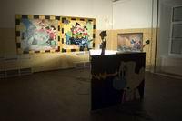 Перфоманс Г.Острецова «Пьяный мастер-3» в Московском музее современного искусства