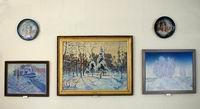 Новогодний вернисаж в Художественном музее Алтайского края