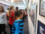 Зрители на открытии выставки