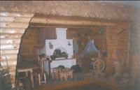 Фрагмент экспозиции Крестьянская изба 19 века