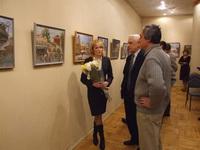 По улицам Старого Саратова, открытие выставки.