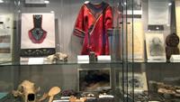 Фрагмент экспозиции, посвящённый быту коренных малых народов Севера нивхов