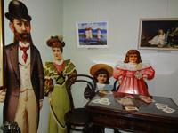 Семья за ломберным столом. 1900-е гг.