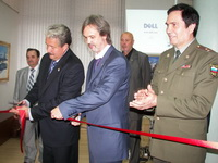 Открытие выставки в Москве.