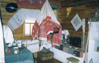 Крестьянский дом. Фрагмент экспозиции