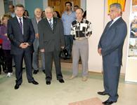 Открытие выставки Азов - Агланджа - города-побратимы. Азовский музей. 2010