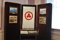 Экспозиция копий архивных фотографий и документов из фондов Международного Центра Рерихов на выставке Симфония гор в Тамбове