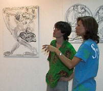 Муза испанского художника Карпи