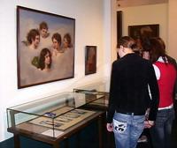 На выставке Неизвестные работы известных художников в Музее истории религии