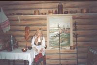 Фрагмент экспозиции Быт и культура Коми края XVII- нач XXвв.