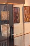 Зал экспозиции Рыкунова Н. Ночной Гнезно. 2009. Выставки картин Натальи Рыкуновой  в  Сергиево-Посадском музее-заповеднике