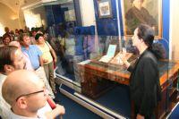 Директор НМ РТ Назипова Г.Р. на открытии выставки