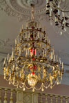 Люстра парадного зала дворца
