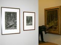 На выставке И.И. Шишкина в Русском музее