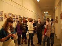 Открытие 3 апрельской фотовыставки. 2010