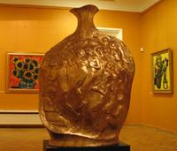Открытие в Париже выставки Зураба Константиновича Церетели