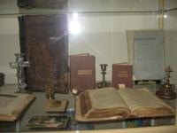 Экспонаты из фондов музея