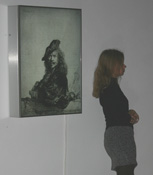 Инсталляция Дмитрия Гутова в Третьяковской галерее на Крымском Валу
