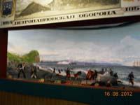 Диoрама Оборона города от англо-французкой эскадры в 1854 г.