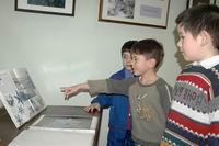Морозные узоры в Музее Метеорологическая станция Симбирска
