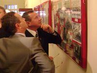 На открытии выставки Комсомол моя судьба! в Рыбинском музее