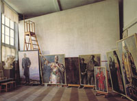Экспозиции: Мастерская. Музей-квартира художника П.Д.Корина