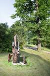 Парковая скульптура в Ботаническом саду