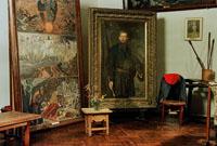 Экспозиции: Интерьр мастерской. Дом-музей В.М.Васнецова
