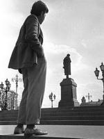 Рядом с Пушкиным  1957г.