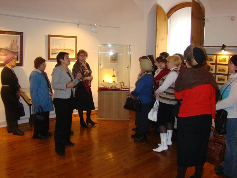 Экспозиции: Открытие выставки