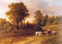 Экспозиции: Клодт М.К. Сумерки, 1869