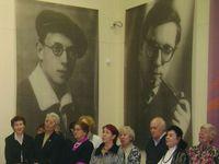 Открытие выставки к 100-летию Л.Ошанина в Рыбинском музее. Май 2012.