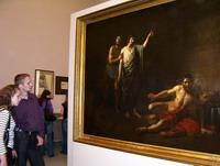 На выставке работ Александра Иванова в Русском музее