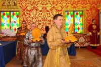 Царский пир во дворце царя Алексея Михайловича в Коломенском