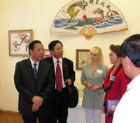 Делегация провинции Хубэй  из Китая в Саратове