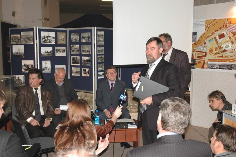 Экспозиции: Конкурс на проект развития Ставропольской крепостной горы