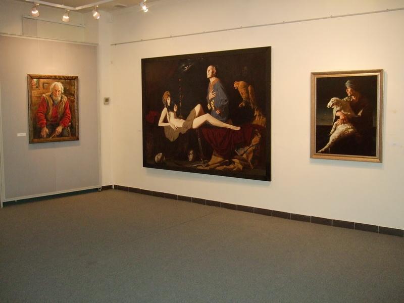 Экспозиции: Осенний салон-2012. Выставочный зал.Сергиево-Посадский музей-заповедник