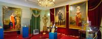 Портреты династиии Романовых в Дворцовом павильоне 1825 года
