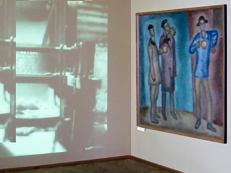 Выставка Счастливая страна СССР в Курской картинной галерее им. А.Дейнеки