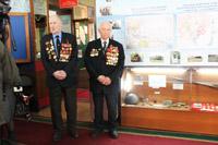 Bетераны войны в музее