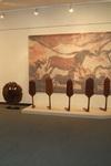 Фрагмент выставки «Конь, баба, птица» . СПМЗ