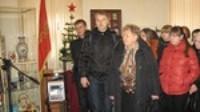 На торжественном открытии выставки Наш адрес - Советский Союз
