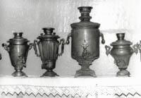 Фрагмент коллекции тульских самоваров. Конец 19 -нач. 20вв.