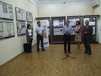 На открытии выставки «Преодоление Смуты в России в начале XVII века»