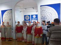 «Кружевная элегия Вологды». в Рыбинском музее
