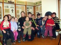 Встреча о. Илии с детьми реабилитационного центра для несовершеннолетних