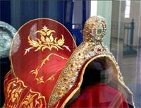Седло. Фрагмент экспозиции Казанская губерния в XVIII веке