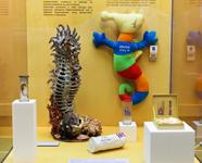 Паралимпийские талисманы на выставке Талисманы Олимпийских игр