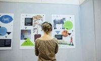 Передвижная выставка Виртуальный Дом со львом. Фрагмент экспозиции